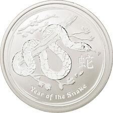 Monnaies, Australie, 50 Cents Année du Serpent 2013, 1/2 once Argent, KM #88726