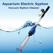 Aquarium Electric Syphon 220V Suction Operated Fish Tank Washer Filter Cleaners