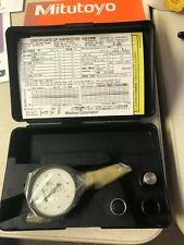 "Mitutoyo 513-403-10E Dial Test Indicator, .008"" Range, .0001"" Graduation - NEW"