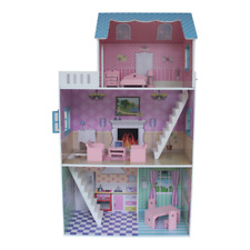 """Liberty House Toys """"townhouse"""" Dollhouse With Furniture Multi-colour"""