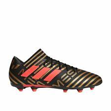New Men's Adidas Nemeziz Messi 17.3 FG Soccer Cleats Black / Gold Sz 7 M