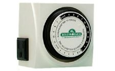 Hydrofarm, Dual Outlet Analog Grounded Timer