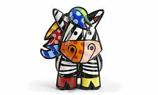ROMERO BRITTO 3-D ZEBRA FIGURINE with C.O.A.  * LIMITED EDITION 4.000 *