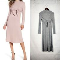 Womens Everly brand Size S Long Sleeve Mock Neck Dress