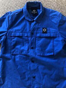 ma strum overshirt XXL 25 Inch PTP Blue