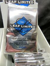1996-97 LEAF LIMITED NHL Hockey Factory-Sealed Hobby PACK - Iginla RC