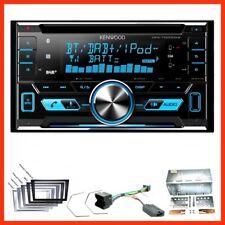 Kenwood DPX-7000DAB Bluetooth USB DAB+ Einbauset für Opel Vectra Meriva Signum