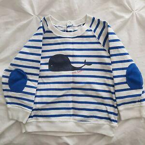 PETIT BATEAU BOYS LONG SLEEVED  sweatshirt  AGE 3 Years 36 months