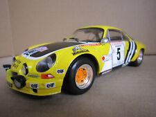 Alpine Renault A 110 1800  Tour de Corse G Larousse 1975 Altaya 1/18 NEUF BOITE