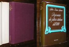 Dizionario dei pittori italiani dell' 800 Lidia e Franco Luciani Vallecchi1974