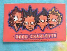 Good Charlotte Cartoon 3 x 5 Inch Sticker