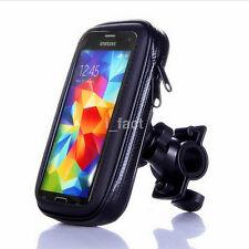 Motorcycle Bike Handlebar Holder Mount Waterproof Bag Case for iPhone 7 6S Plus