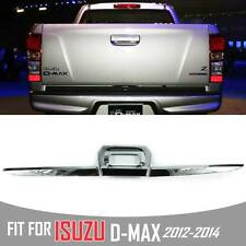 FIT FOR ISUZU DMAX D-MAX 2012 2013 2014 CHROME REAR TAILGATE ACCENT COVER TRIM