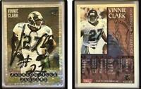 Vinnie Clark Signed 1995 Bowman #244 Card Jacksonville Jaguars Auto Autograph