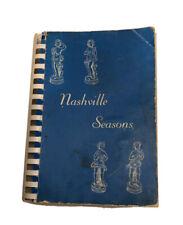 Nashville Seasons Cook Book 1964