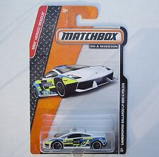 Unit #63 Lamborghini GALLARDO LP 560-4 Police Matchbox 81/120 NEW in Package!