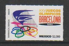 Mexico - 1992, Olympic Games, Barcelona stamp - MNH - SG 2057
