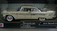 New 1958 Plymouth Fury American Classics 1/18 Scale Die Cast Car InBox Motor Max
