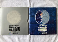 More details for vintage 2000 sainsburys maker of the millennium guinness world records medal set