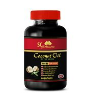 Efficient Fat Burning - Coconut Oil 3000mg - Cholesterol Off - 1B