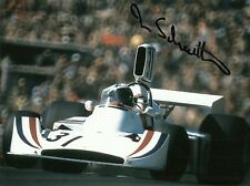 Ian Scheckter Genuine Signed Photo 1974 Austrian Grand Prix Hesketh 308 F1