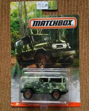 Matchbox Toyota Land Cruiser Camouflage Series