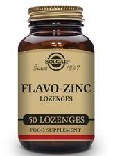 Solgar Flavo Zinc Lozenges Antioxidant Zinc Citrate & Gluconate - Pack of 50