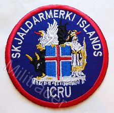 Iceland Icelandic Crisis Response Unit (ICRU) Patch (Variant)