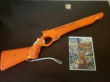 Cabela's Wii Gun With Wii Remote & Nunchuck + Cabela's North American Adventures