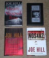 1st Edition JOE HILL Novels - Heart Shaped Box 20th Century Ghosts Horns NOS4A2