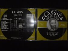 CD B.B KING / 1949 -1952 / CLASSICS / RARE /