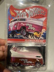 2021 Hot Wheels Redline Club Candy Striper Volkswagen Drag Bus