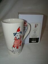 """Department 56 MERRY MUTT MUG Dog Cup  """"FETCH THE SPIRIT"""" - NEW IN BOX"""