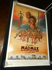 Mad Max Beyond Thunder Dome Mel Gibson Original Spanish Rolled One Sheet Poster