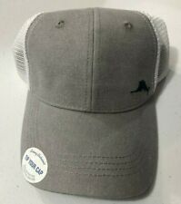 Tommy Bahama Live The Island Life Trucker Hat Gray White with Navy Marlin