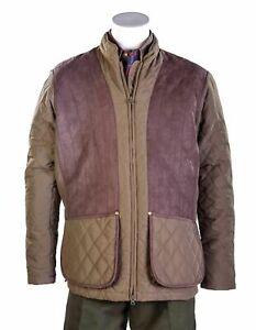 Bonart Girvan Shooting Quilted Green Jacket