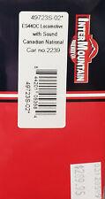 InterMountain #49723S-02 - HO - Canadian National ES44DC Locomotive w/DCC+Sound
