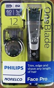 New Philips Norelco Face One Blade Trimmer  Shaver (QP6510/70)