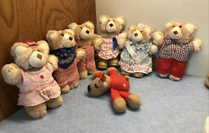 "Choice of Furskins Bears +/or Graphics Internation Stuffed animals 7"""