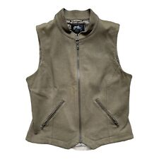Goode Rider Ribbed Lined Vest Green Equestrian Women's Size Small