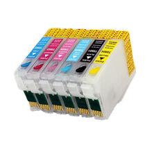 6 CARTUCCE RICARICABILI AUTORESET PER EPSON PX660 PX700W PX730WD PX810FW BL08