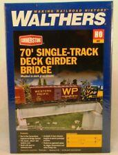 Puentes de escala H0 Walthers de plástico para modelismo ferroviario