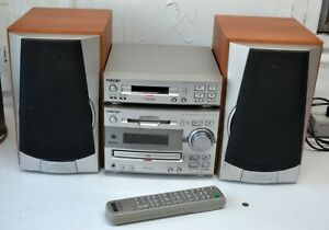 SONY DHC MD313 CD PLAYER MINIDISC RECORDER..WITH TX313 CASSETTE