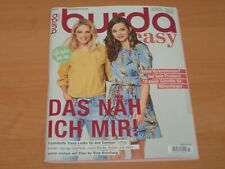 """burda easy """"DAS NÄH ICH MIR!"""" + Schnittmuster Ausgabe 2/2020"""