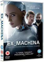 Ex Machina with Domhnall Gleeson New (DVD 2015) Gift Idea Movie UK Stock