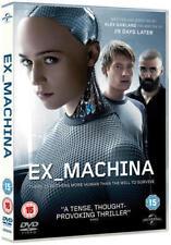 EX-MACHINA DVD BRAND NEW SEALED Gift Idea Movie UK Stock