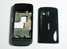 Full black Housing Fascia Cover facia faceplate case for Nokia C5-03 C5 03 black