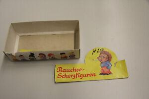 original Verkaufsverpackung  DDR Raucher Mäcky Scherzartikel Raucher Jim