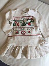 Bebé Niñas Vestido de invierno de Ralph Lauren & Juego Bragas 12 meses BNWT