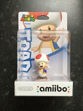 Toad Amiibo - Super Mario Collection (Nintendo Wii U/3DS) Brand New 1st Run.